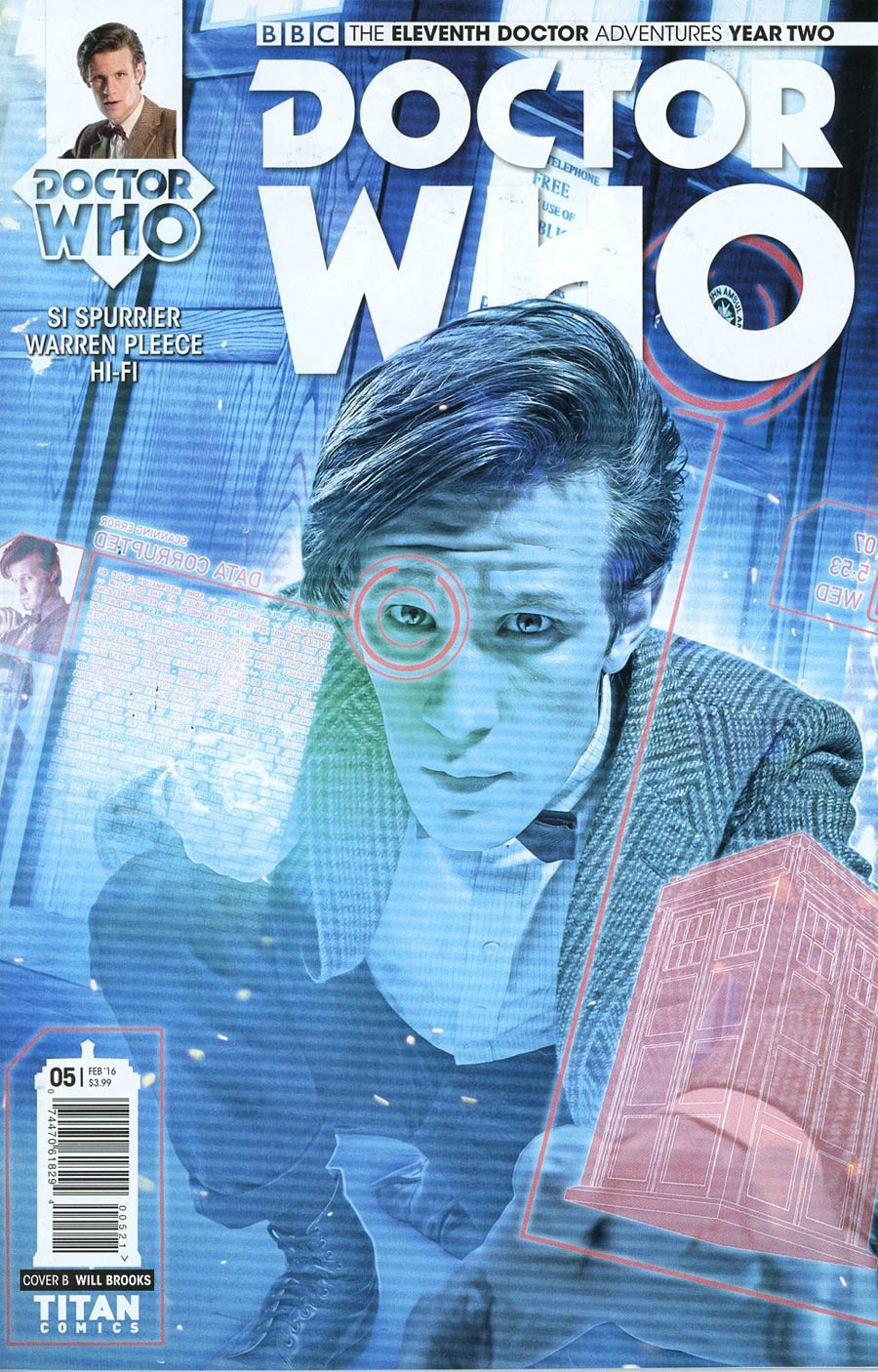 Doctor Who 11th Doctor Year Two #5 Cover B Variant Photo Subscription Cover