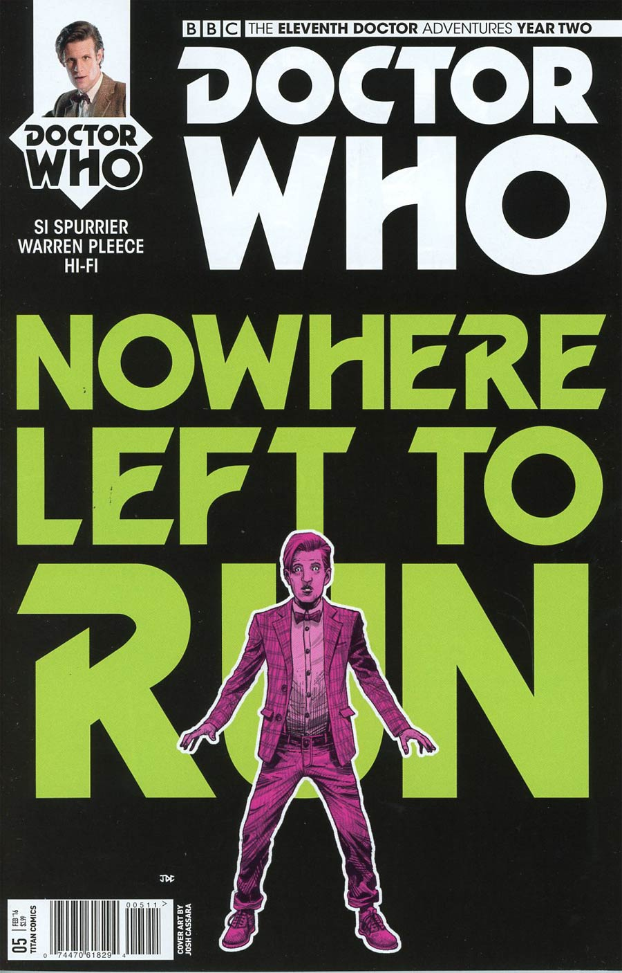 Doctor Who 11th Doctor Year Two #5 Cover A Regular Joshua Cassara Cover