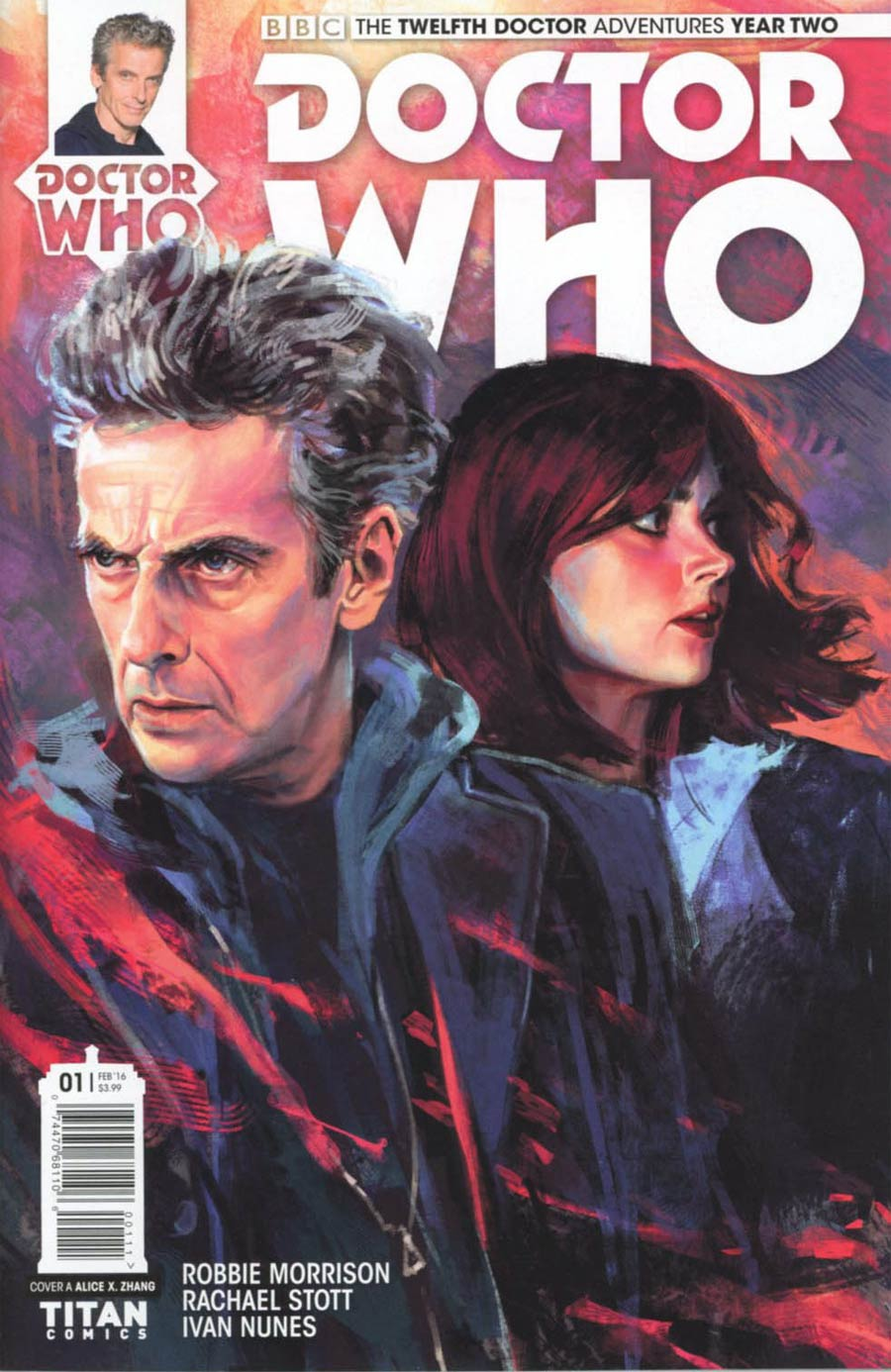 Doctor Who 12th Doctor Year Two #1 Cover A Regular Alice X Zhang Cover