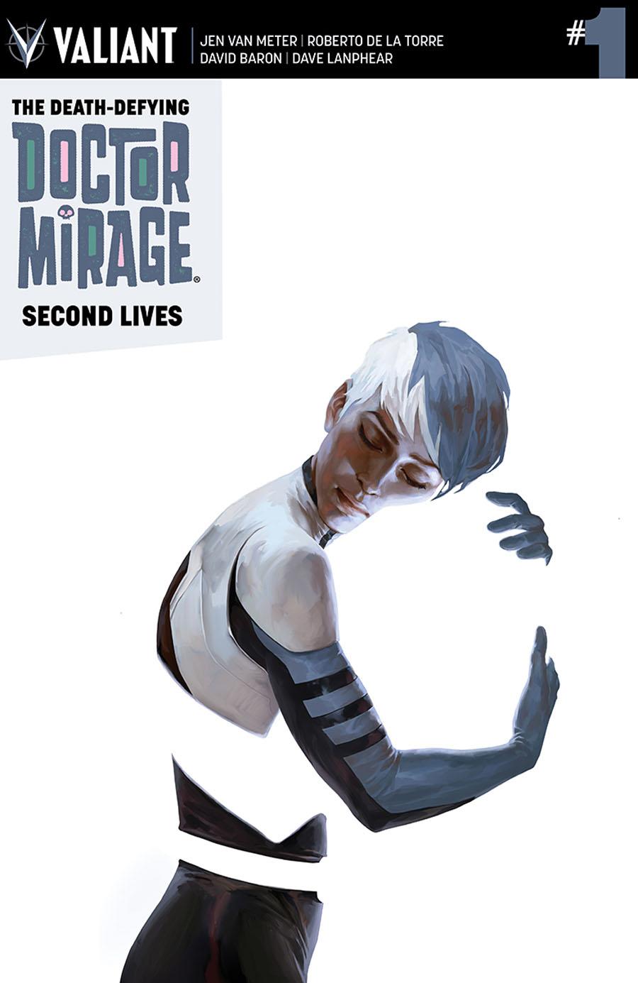 Death-Defying Doctor Mirage Second Lives #1 Cover A Regular Jelena Kevic-Djurdjevic Cover