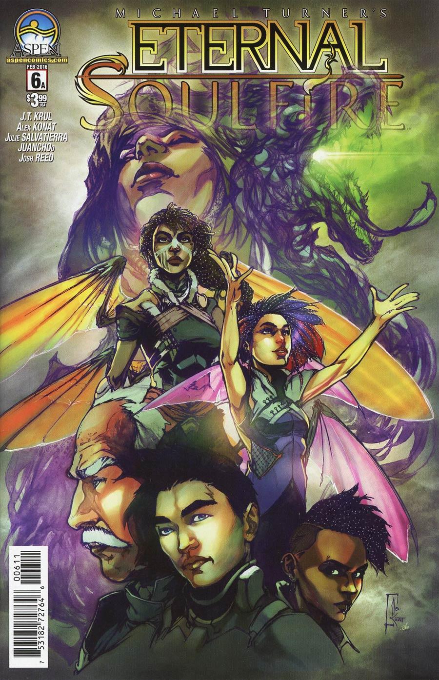 Eternal Soulfire #6 Cover A Regular Alex Konat Cover