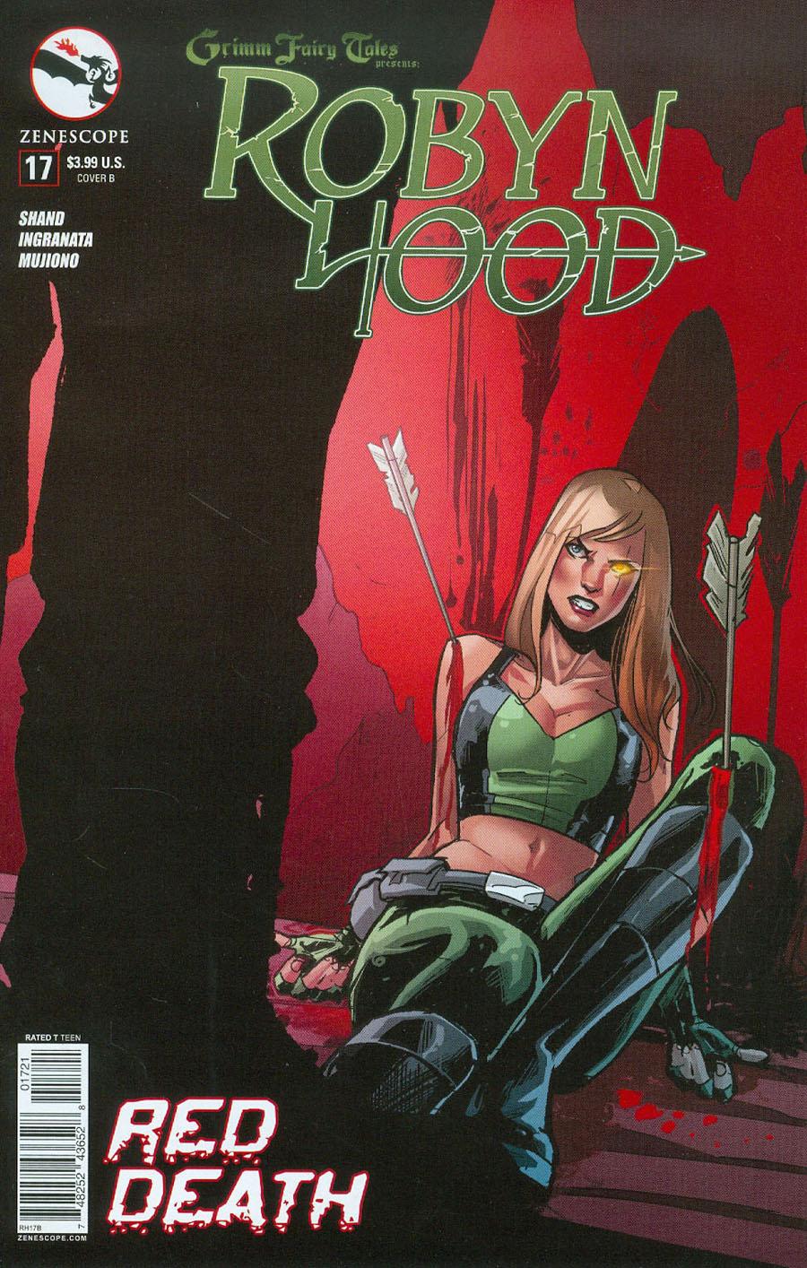 Grimm Fairy Tales Presents Robyn Hood Vol 2 #17 Cover B Roberta Ingranata