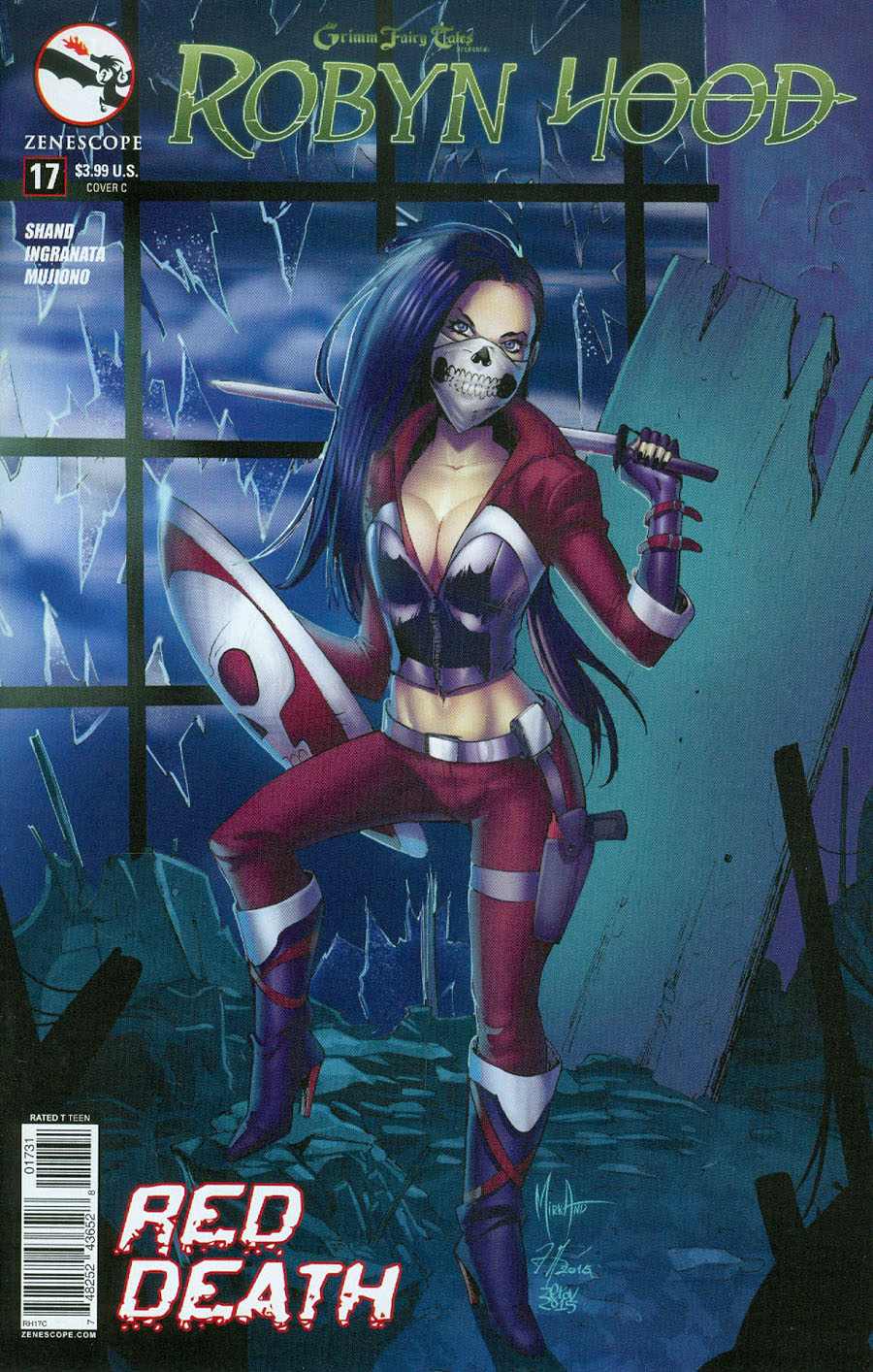 Grimm Fairy Tales Presents Robyn Hood Vol 2 #17 Cover C Mirka Andolfo