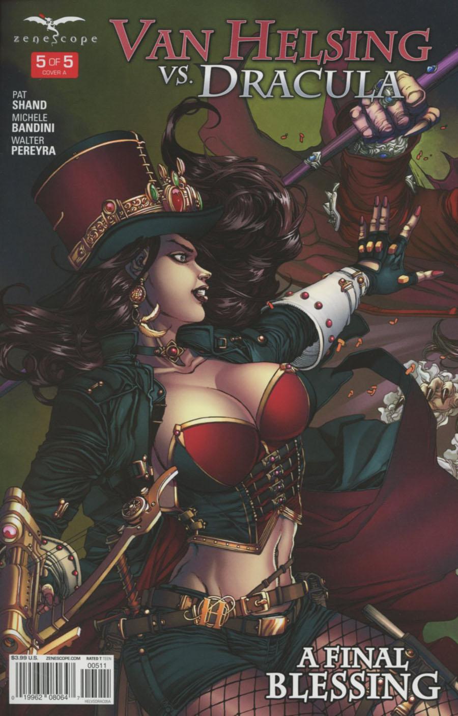 Grimm Fairy Tales Presents Van Helsing vs Dracula #5 Cover A Harvey Tolibao Connecting 1