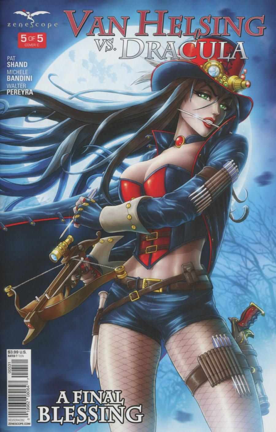 Grimm Fairy Tales Presents Van Helsing vs Dracula #5 Cover C Jason Cardy