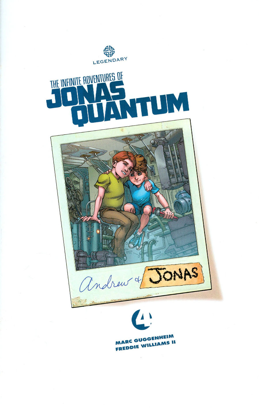 Infinite Adventures Of Jonas Quantum #4