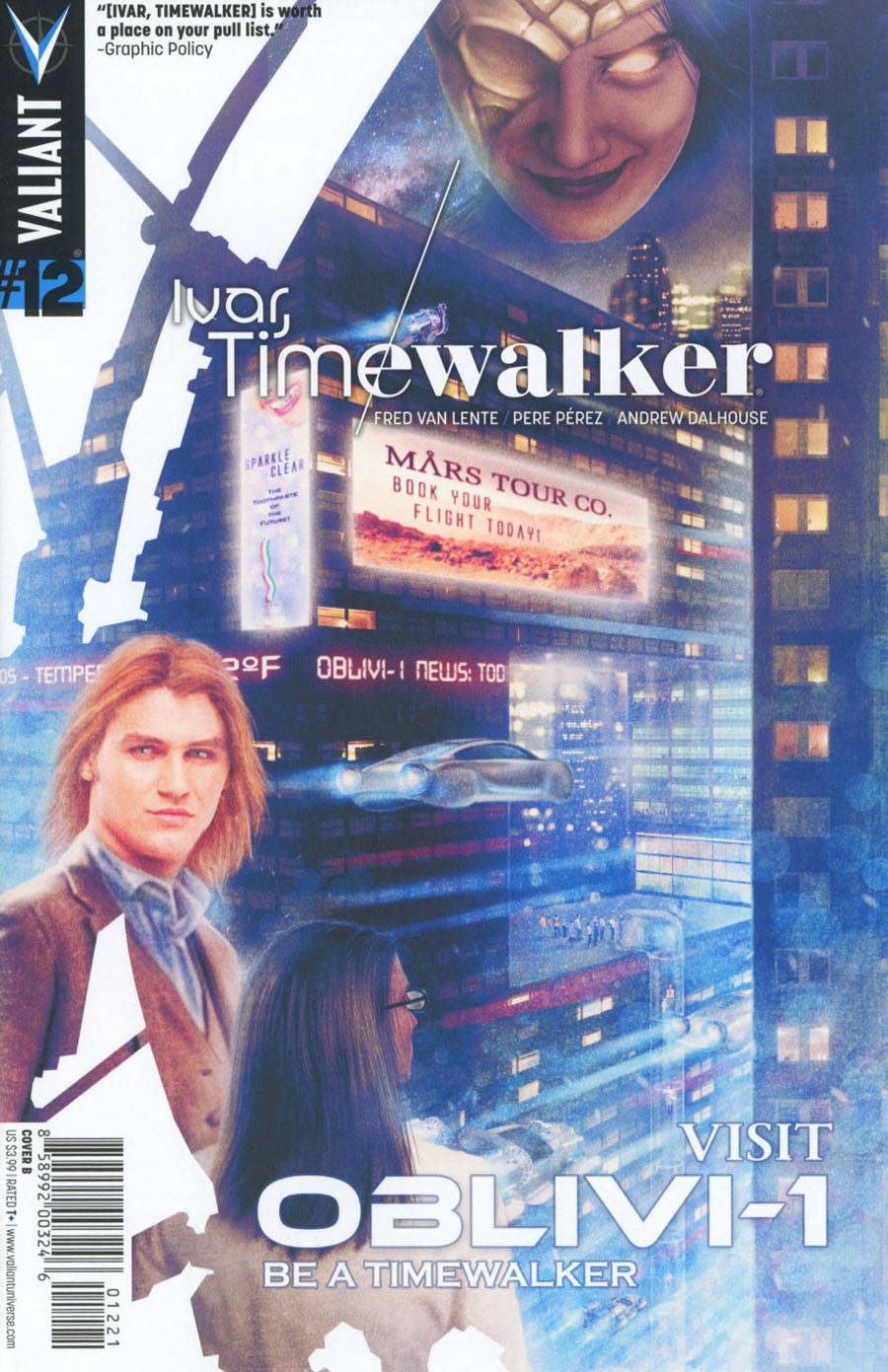 Ivar Timewalker #12 Cover B Variant Carolina Bensler Cover