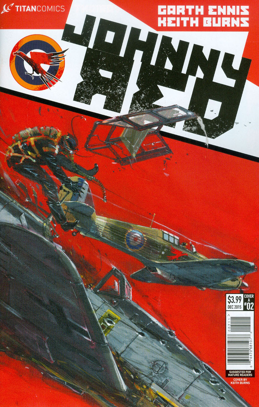 Johnny Red #2 Cover A Regular Keith Burns Cover