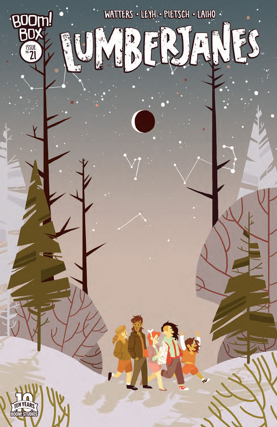 Lumberjanes #21 Cover A Regular Rosemary Valero-Oconnell Cover