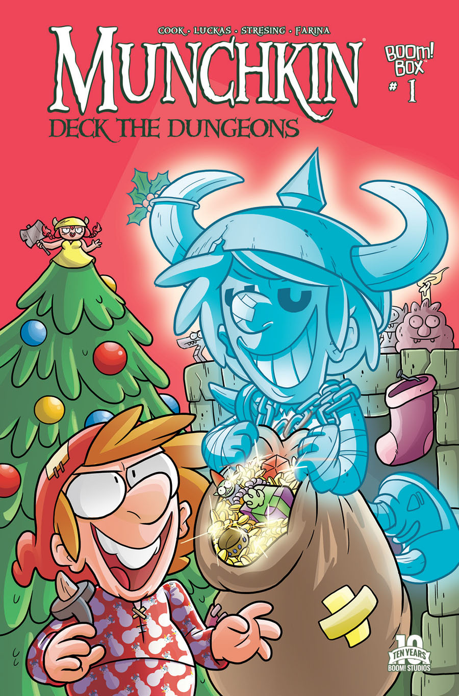 Munchkin Deck The Dungeons #1 Cover A Regular Ian McGinty Cover