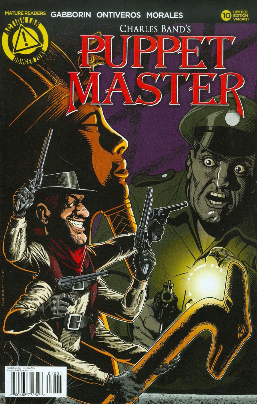 Puppet Master #10 Cover C Variant Glenn Lumsden Cover