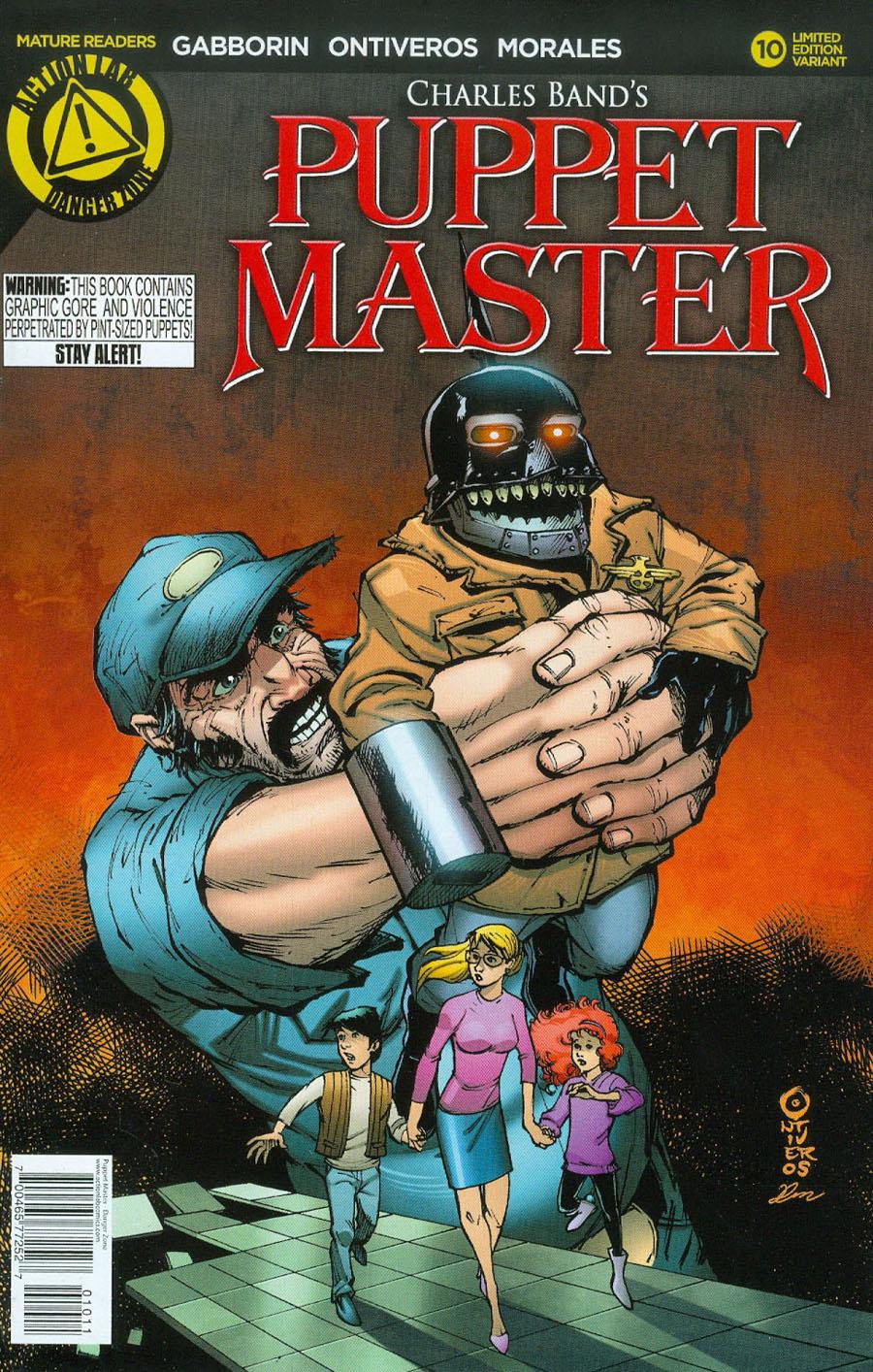 Puppet Master #10 Cover A Regular Antonio Ontiveros Cover
