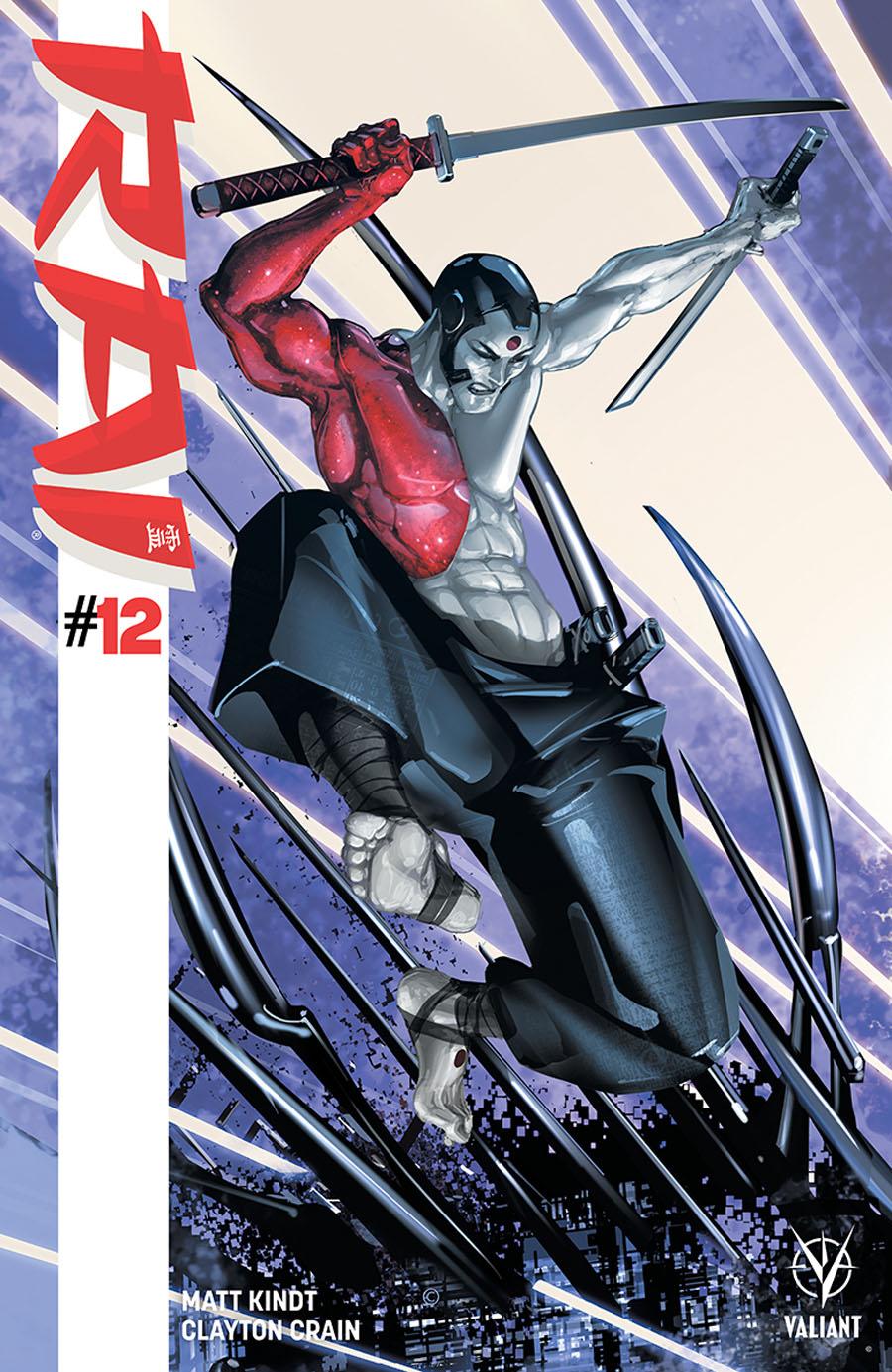 Rai Vol 2 #12 Cover A Clayton Crain Interlocking Cover