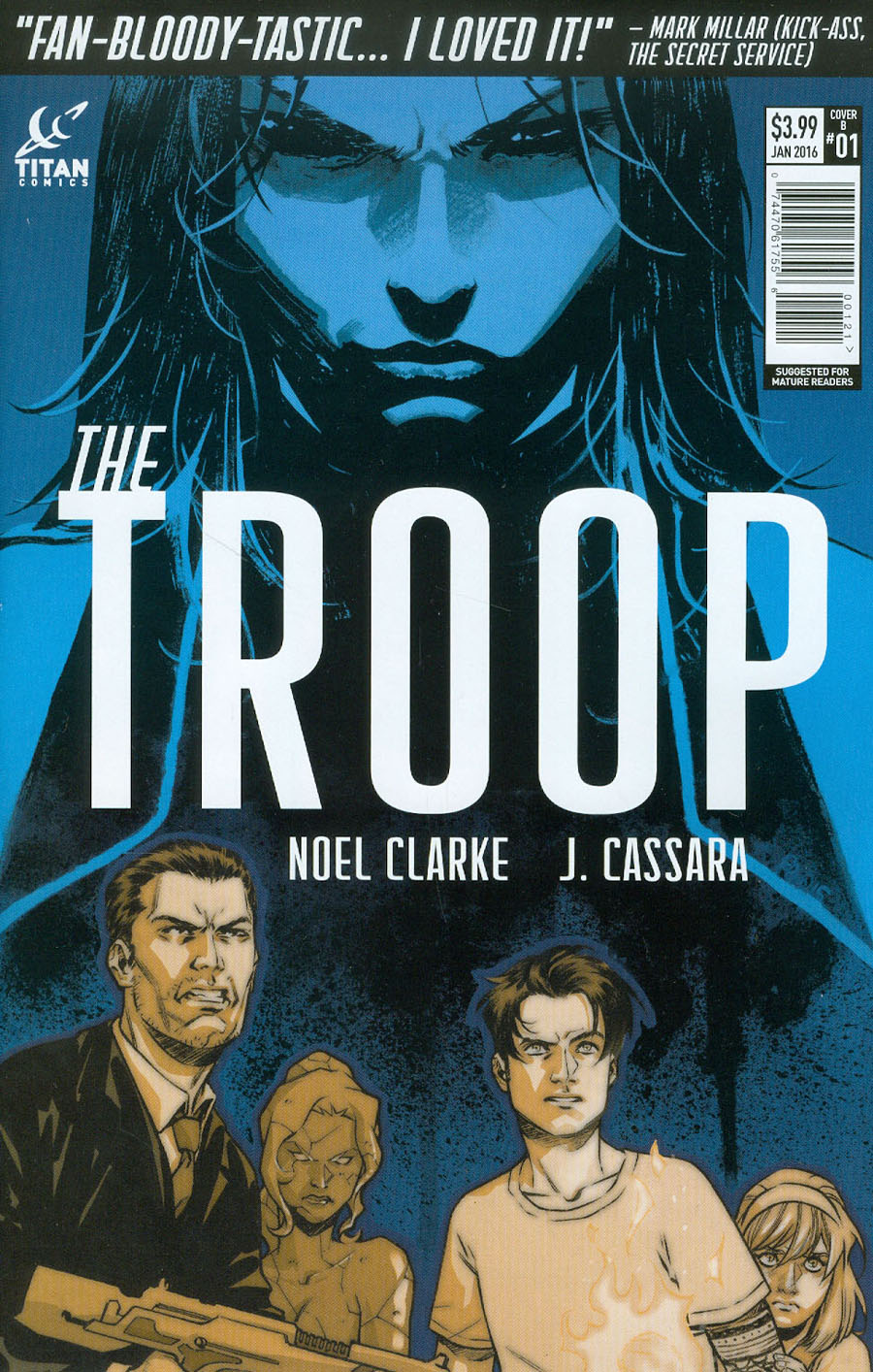 Troop #1 Cover B Variant Elena Casagrande Subscription Cover