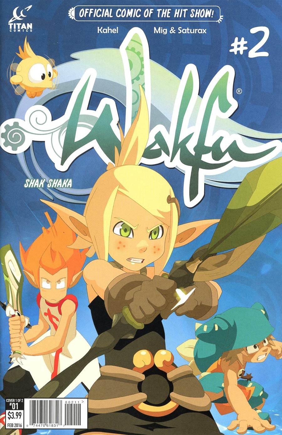 Wakfu #2 Cover A Regular Mig & Saturax Cover