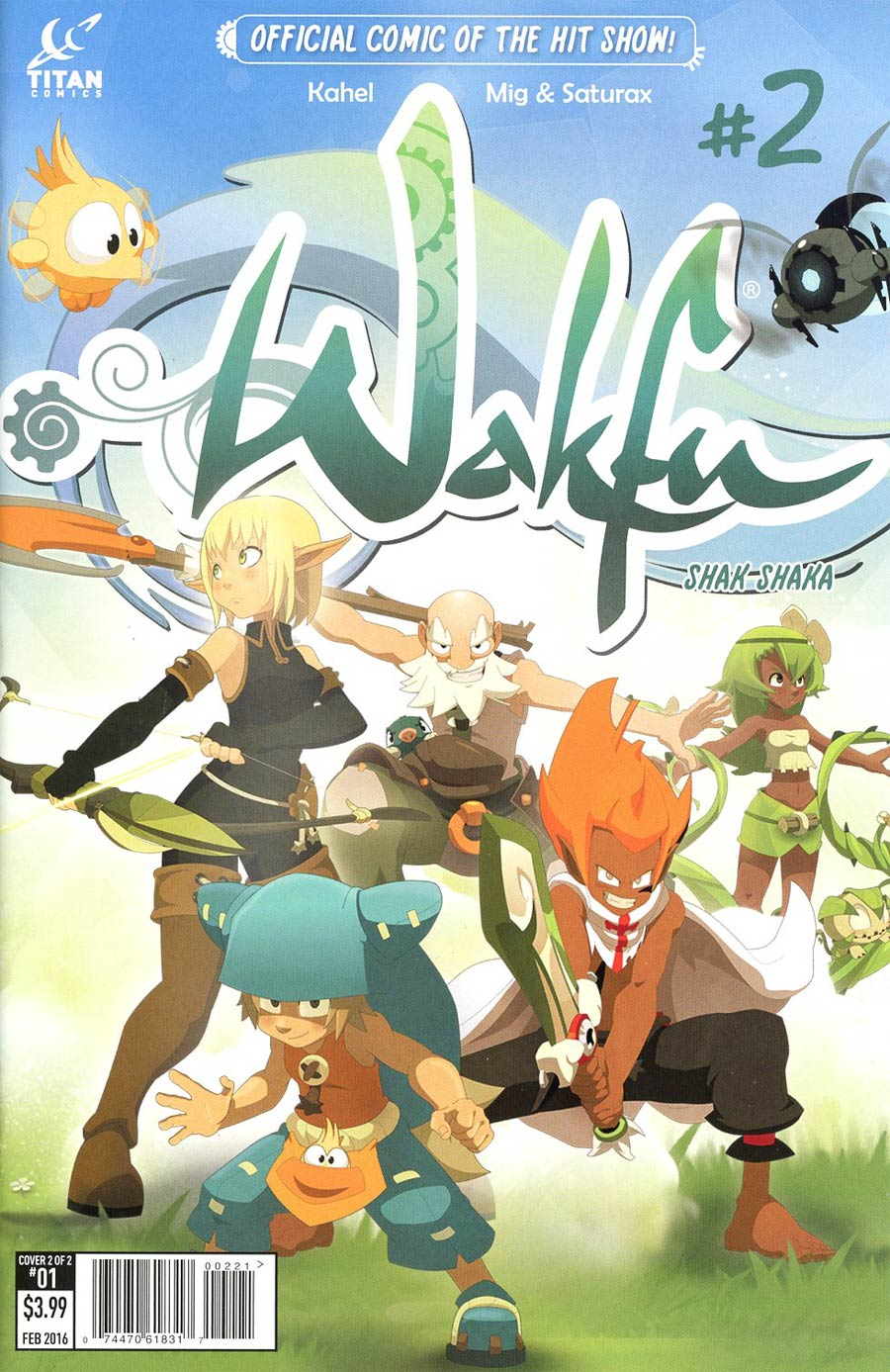 Wakfu #2 Cover B Variant Mig & Saturax Subscription Cover