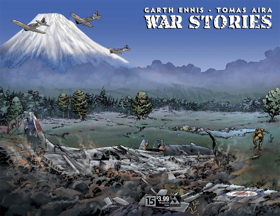 War Stories #15 Cover B Wraparound Cover