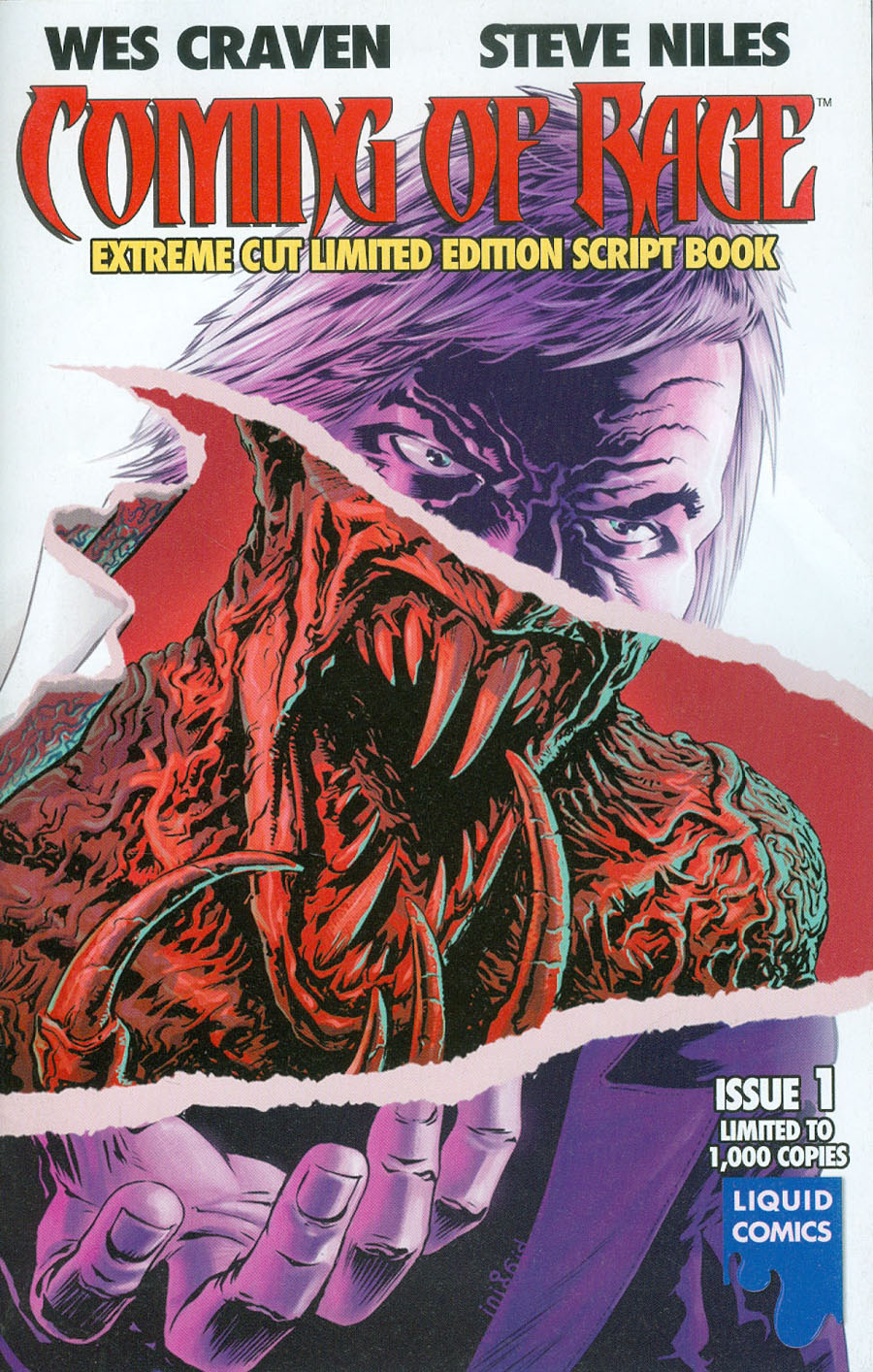 Wes Cravens Coming Of Rage #1 Cover E Extreme Cut Collectors Edition