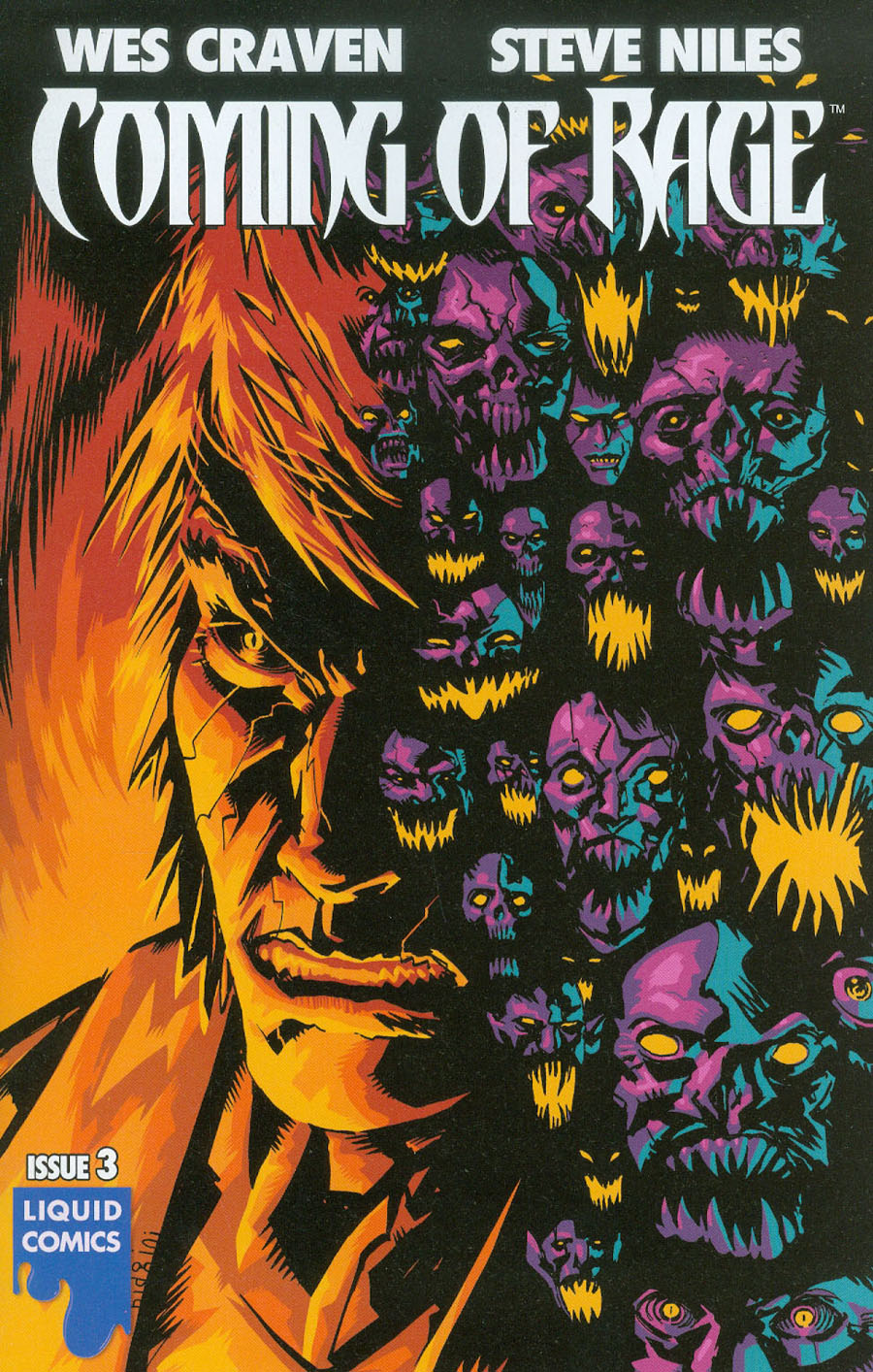 Wes Cravens Coming Of Rage #3 Cover A Regular Francesco Biagini Cover