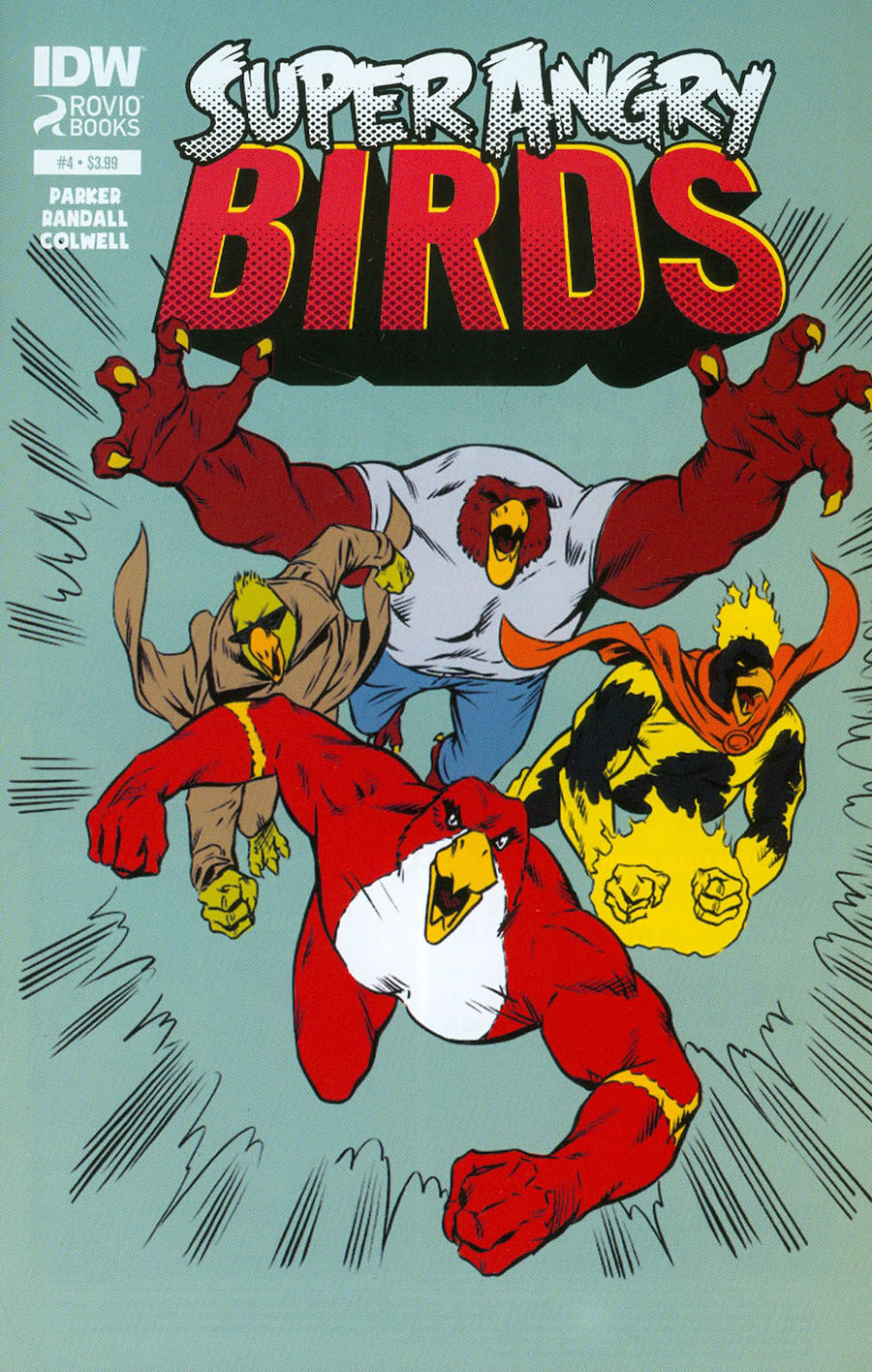 Angry Birds Super Angry Birds #4 Cover A Regular Ron Randall Cover