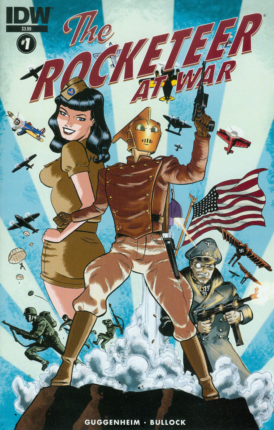 Rocketeer At War #1 Cover A Regular Dave Bullock Cover