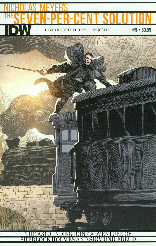 Sherlock Holmes Seven-Per-Cent Solution #5 Cover A Regular Kelley Jones Cover