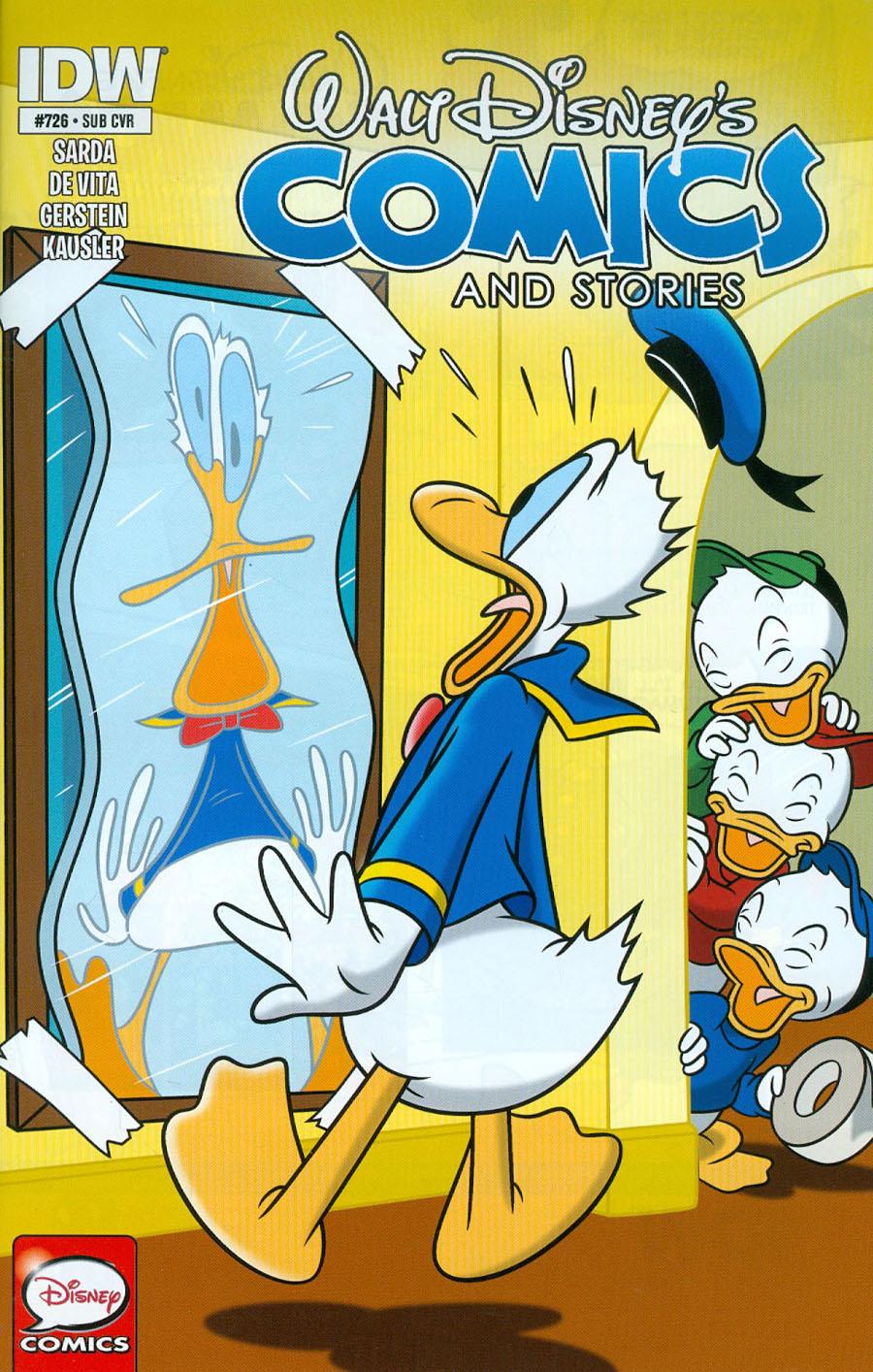 Walt Disneys Comics & Stories #726 Cover B Variant John Loter Subscription Cover