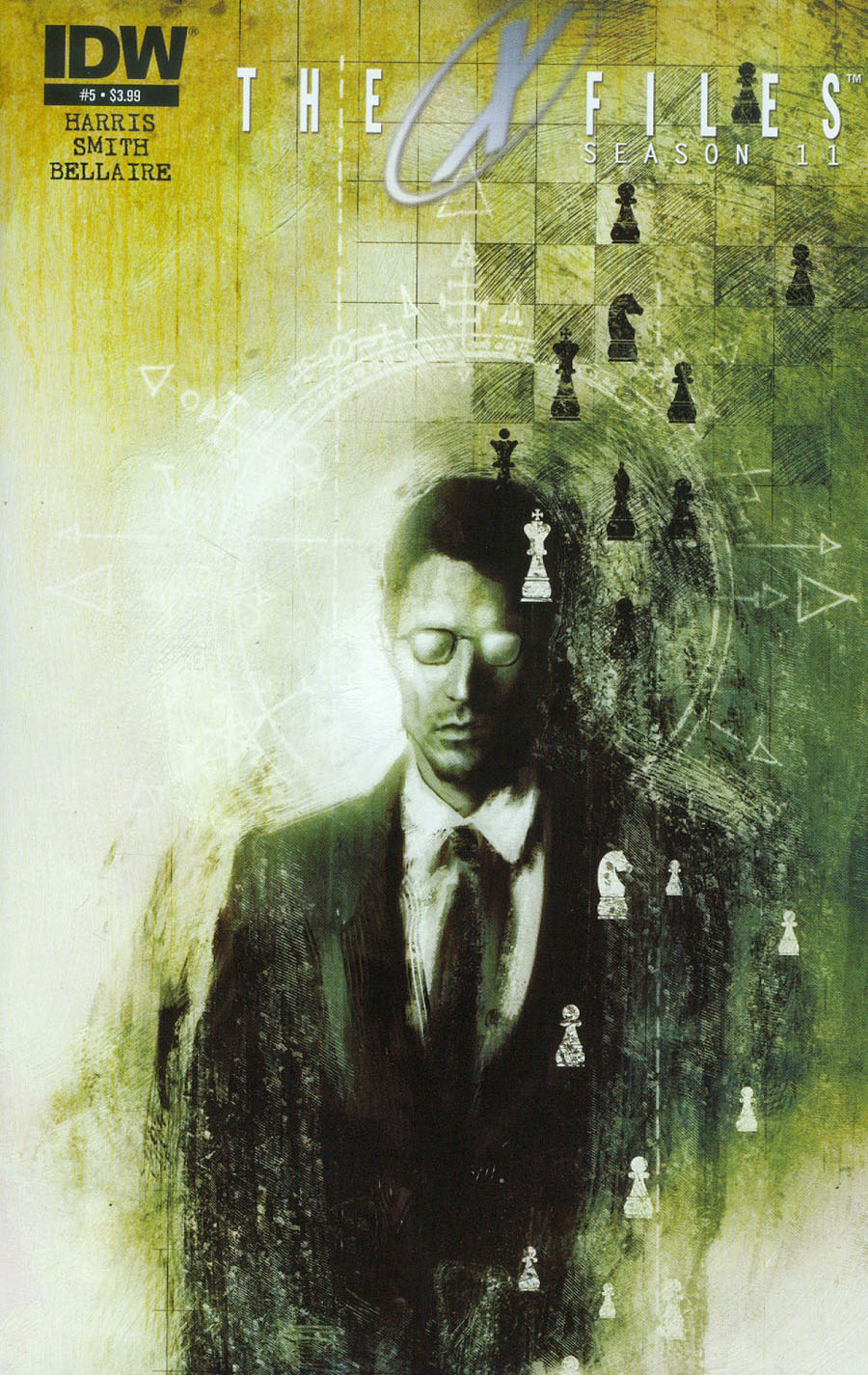 X-Files Season 11 #5 Cover A Regular Menton3 Cover