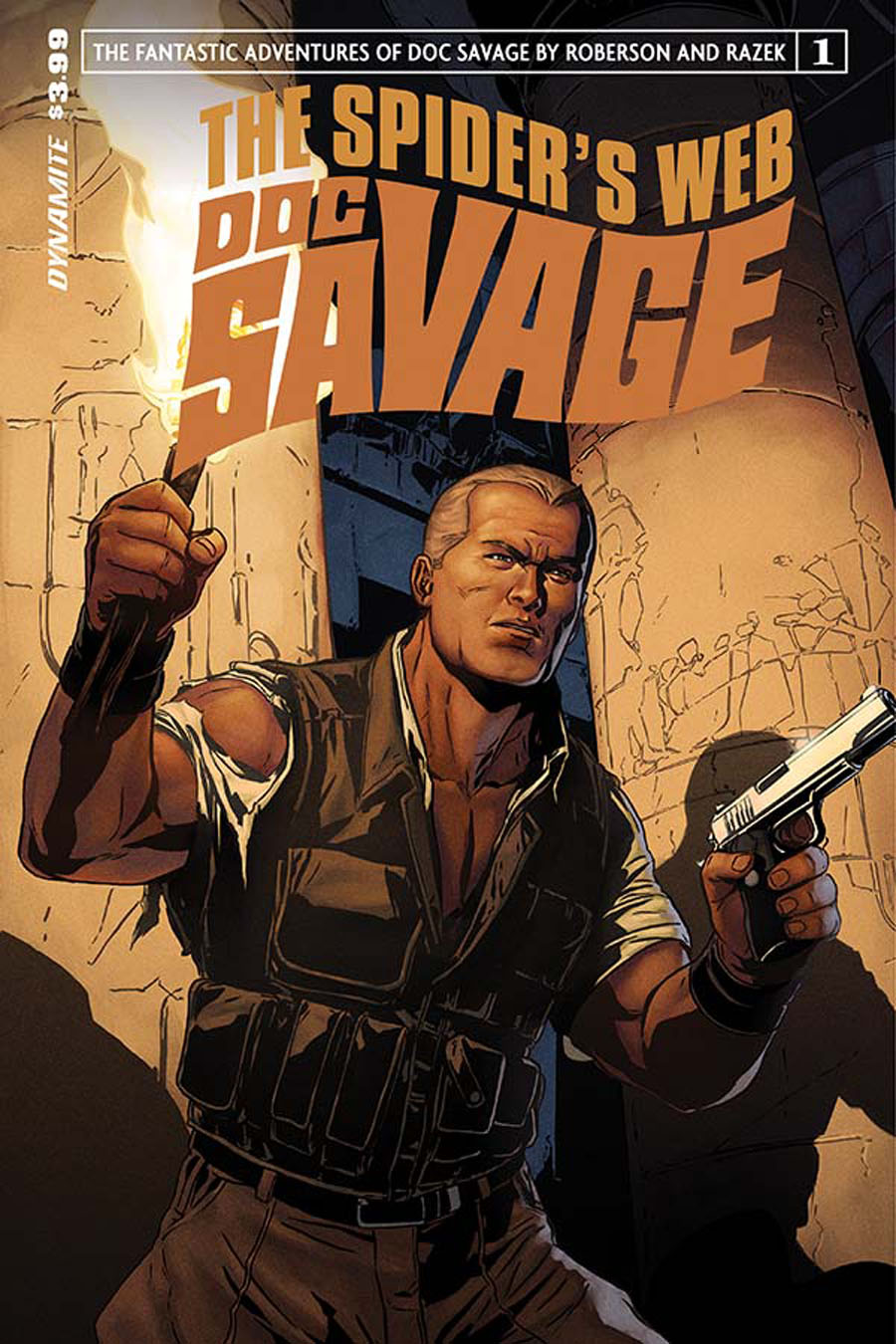 Doc Savage Spiders Web #1 Cover B Variant Marc Laming Subscription Cover