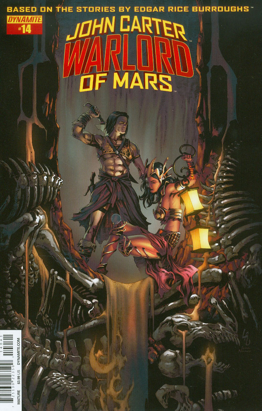 John Carter Warlord Of Mars Vol 2 #14 Cover D Variant Jonathan Lau Subscription Cover