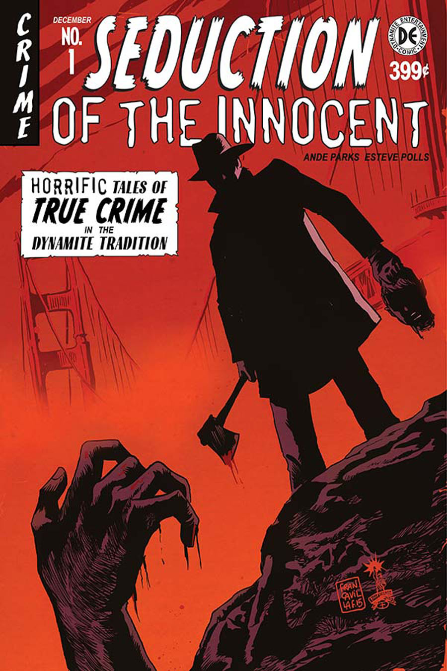 Seduction Of The Innocent (Dynamite) #1 Cover A Regular Francesco Francavilla Cover
