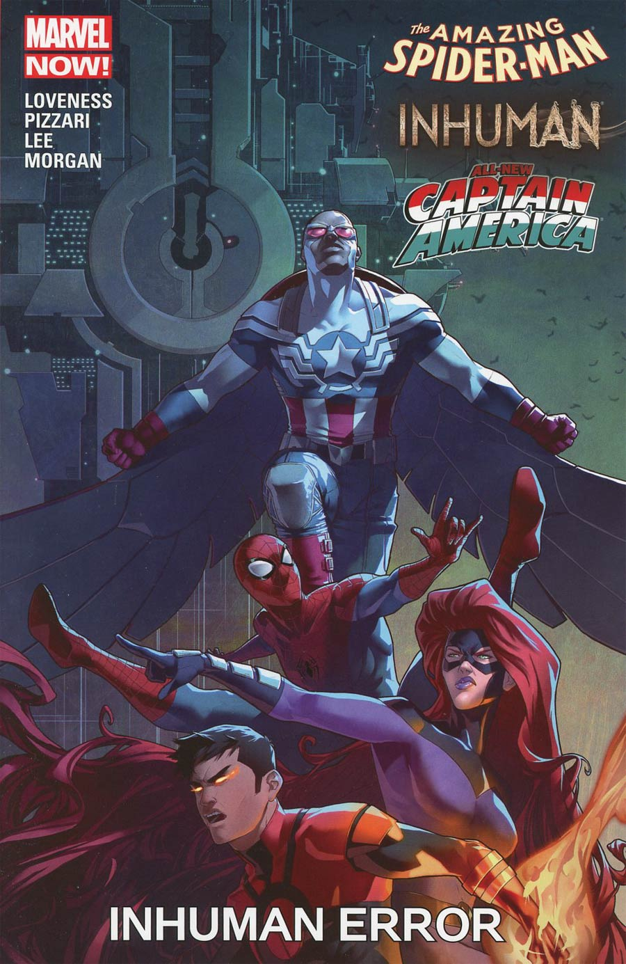 Amazing Spider-Man Inhumans All-New Captain America Inhuman Error TP