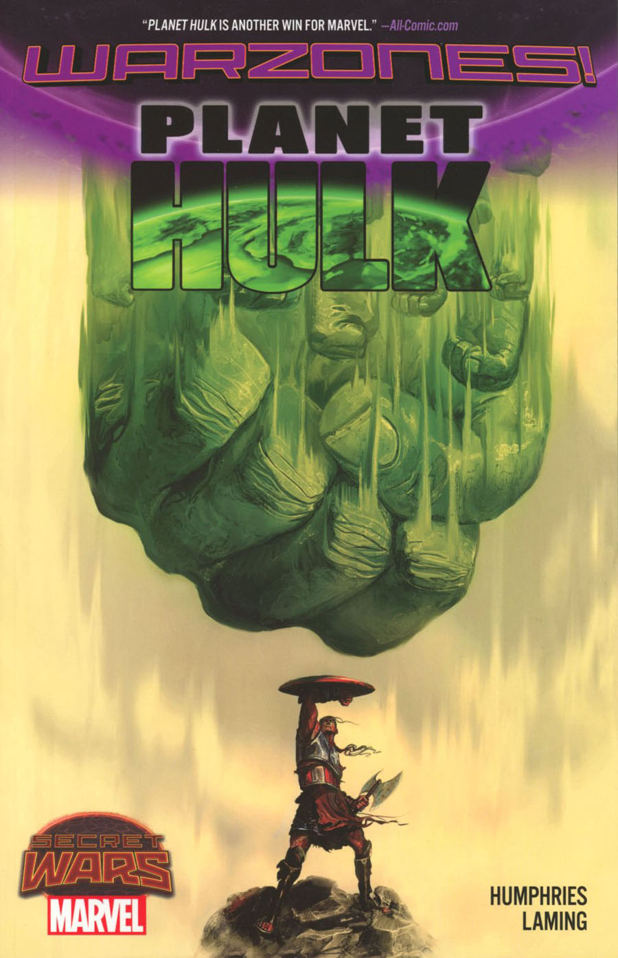 Planet Hulk Warzones TP