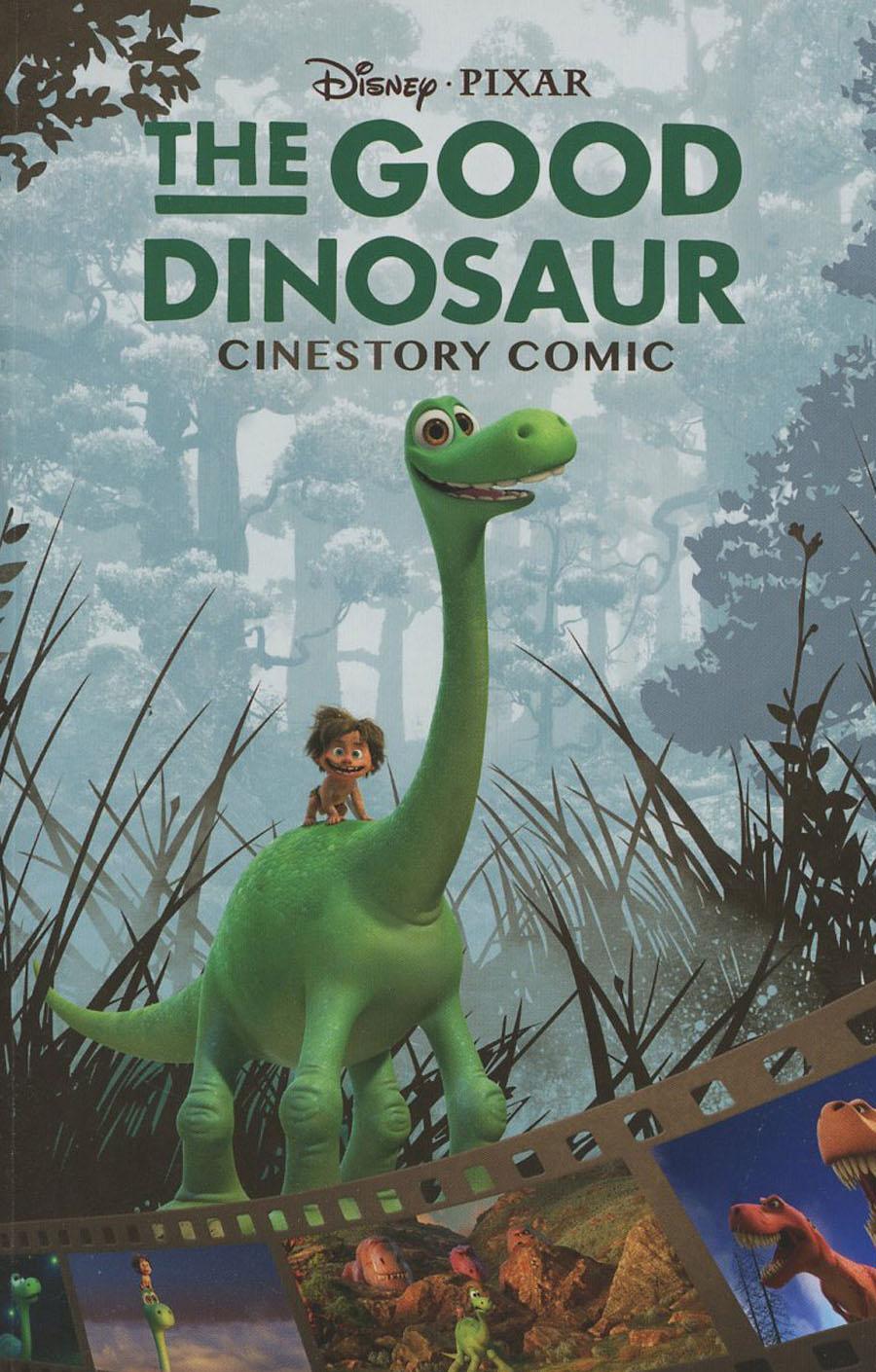 Disney Pixars Good Dinosaur Cinestory Comic TP