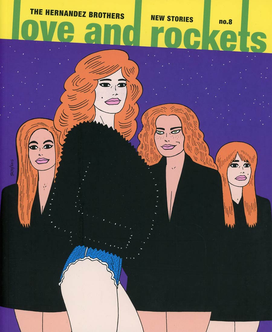Love And Rockets New Stories Vol 8 TP