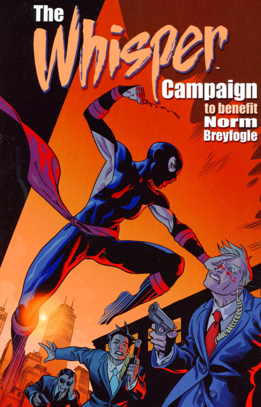 Whisper Campaign To Benefit Norm Breyfogle TP