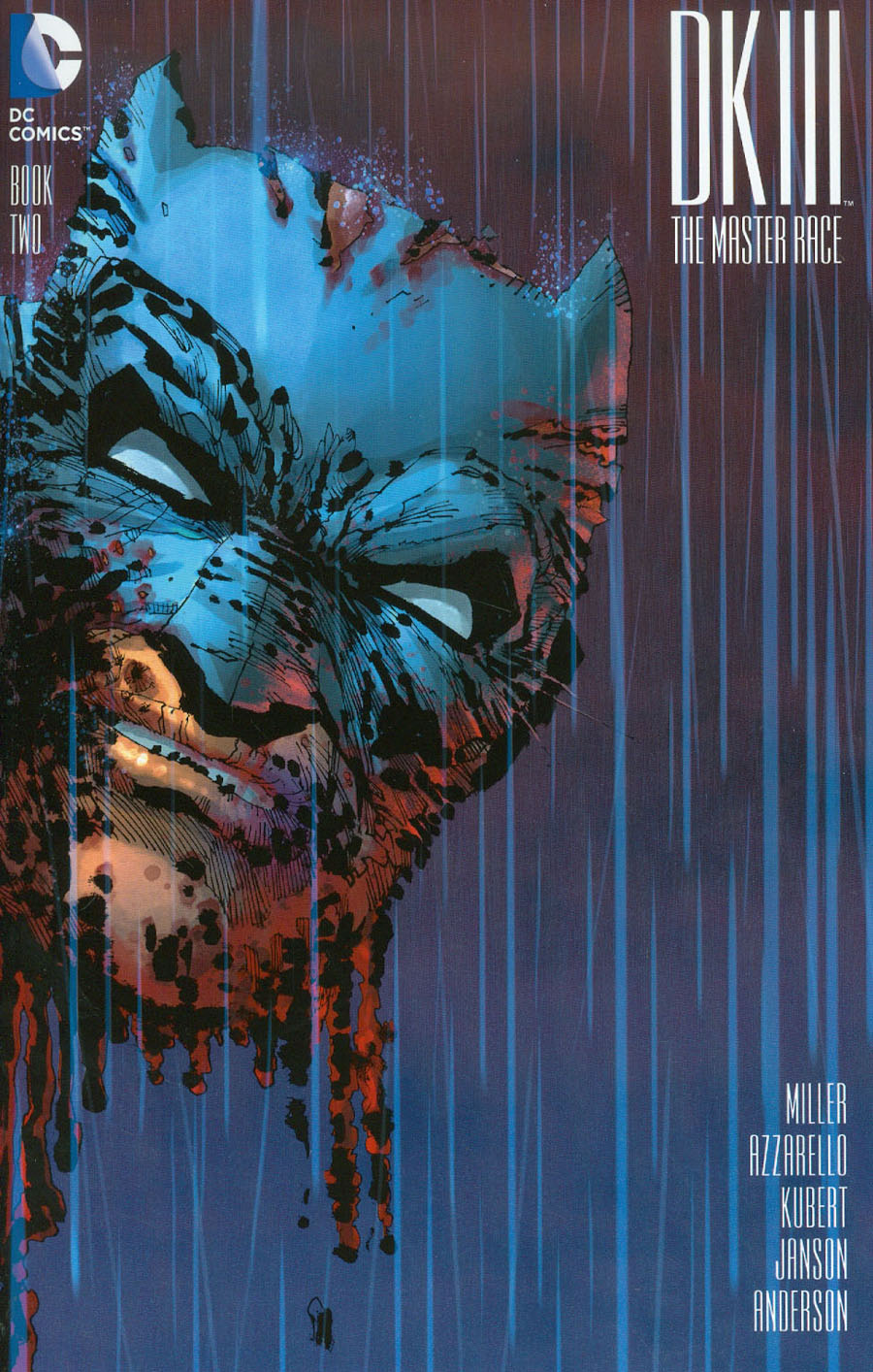 Dark Knight III The Master Race #2 Cover I Incentive Frank Miller Variant Cover