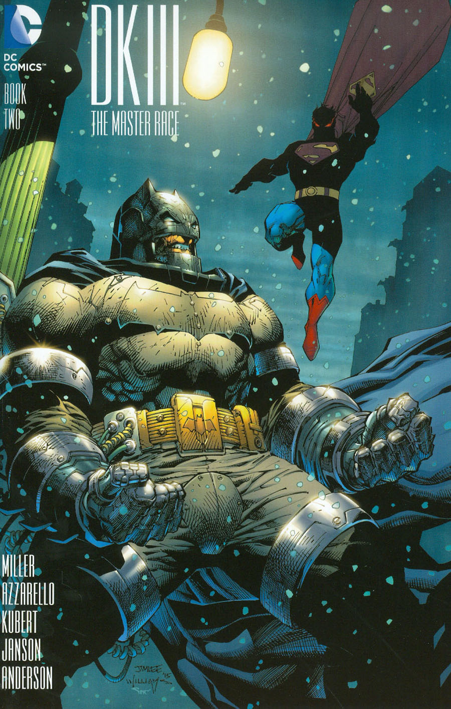 Dark Knight III The Master Race #2 Cover J Incentive Jim Lee Variant Cover
