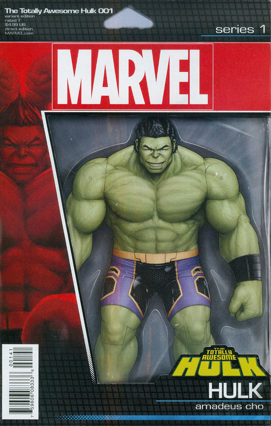 Totally Awesome Hulk #1 Cover C Variant John Tyler Christopher Action Figure Cover