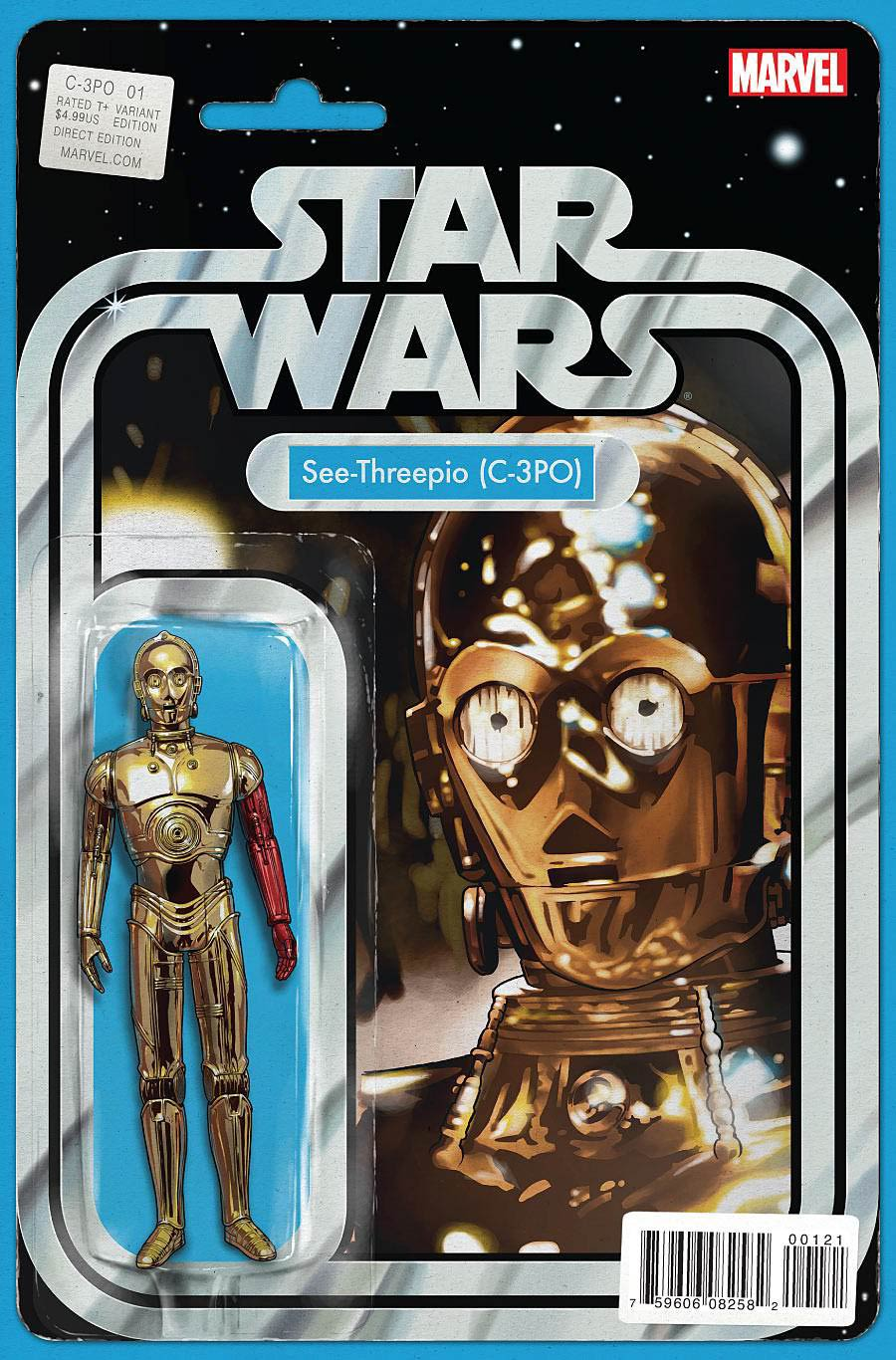 Star Wars Special C-3PO #1 Cover B Variant John Tyler Christopher Action Figure Cover