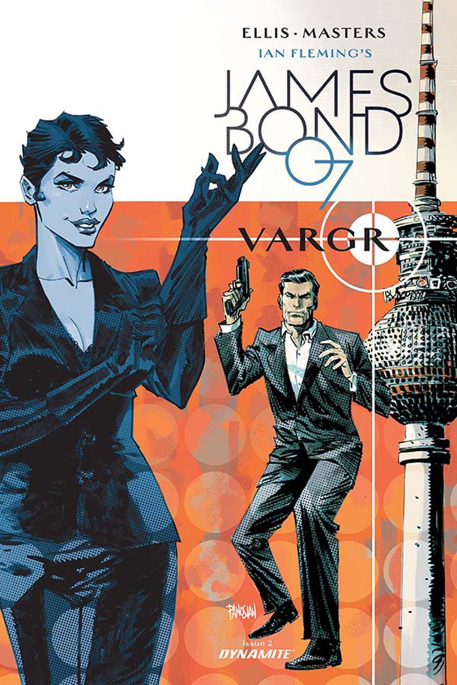 James Bond #2 Cover D Incentive Dan Panosian Variant Cover