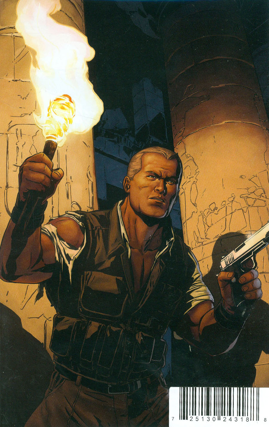 Doc Savage Spiders Web #1 Cover G DF Exclusive Marc Laming Virgin Cover