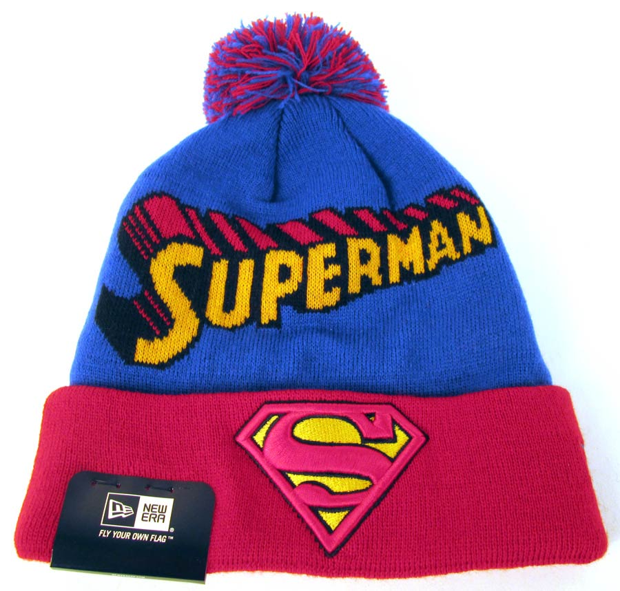 Superman Winter Fresh Knit Cap