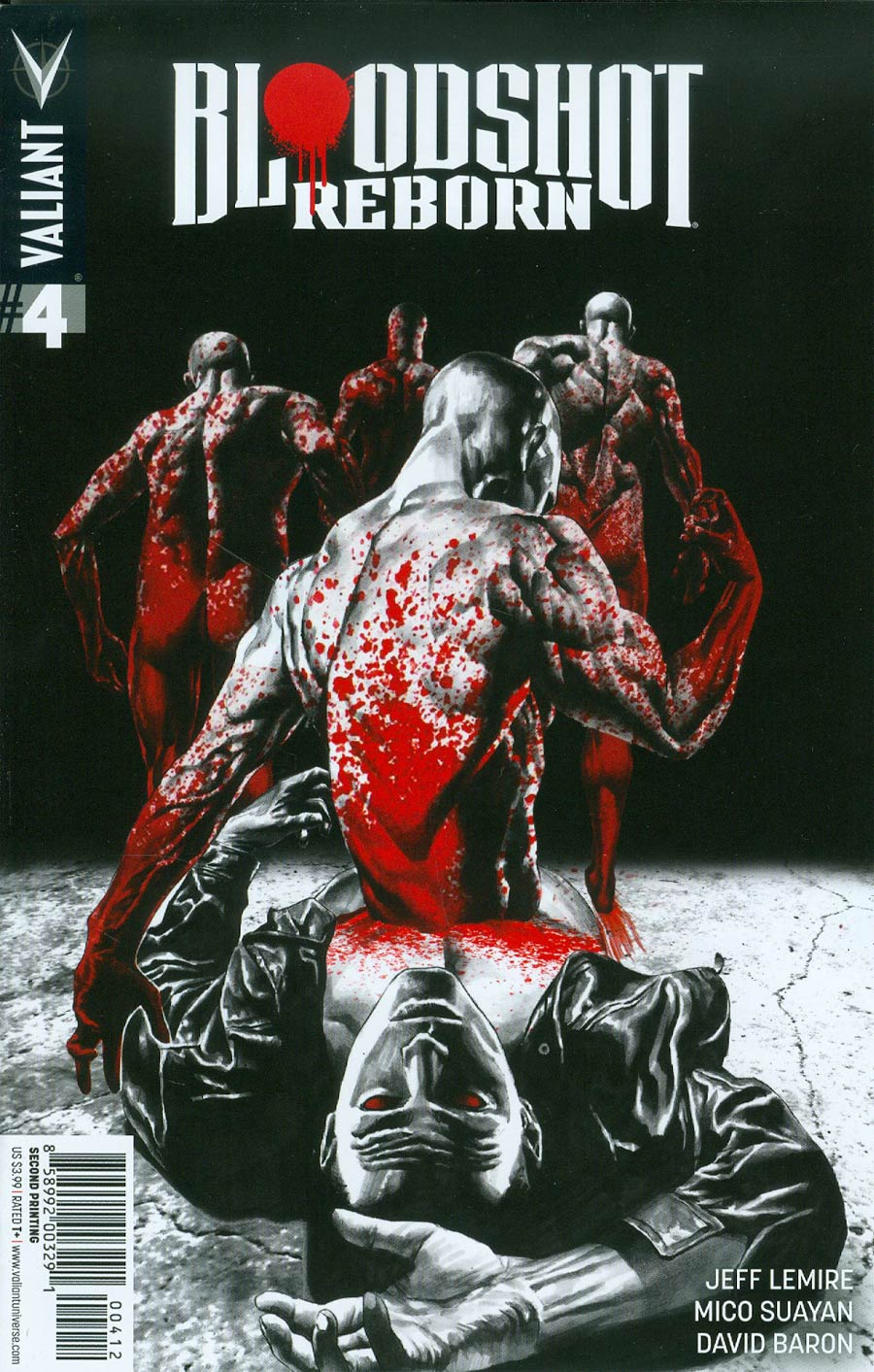 Bloodshot Reborn #4 Cover F 2nd Ptg Mico Suayan Variant Cover