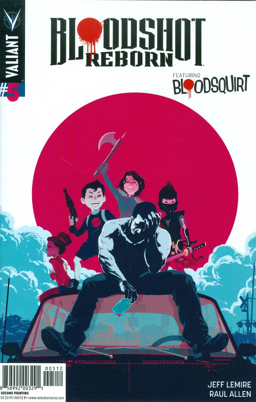 Bloodshot Reborn #5 Cover F 2nd Ptg Raul Allen Variant Cover