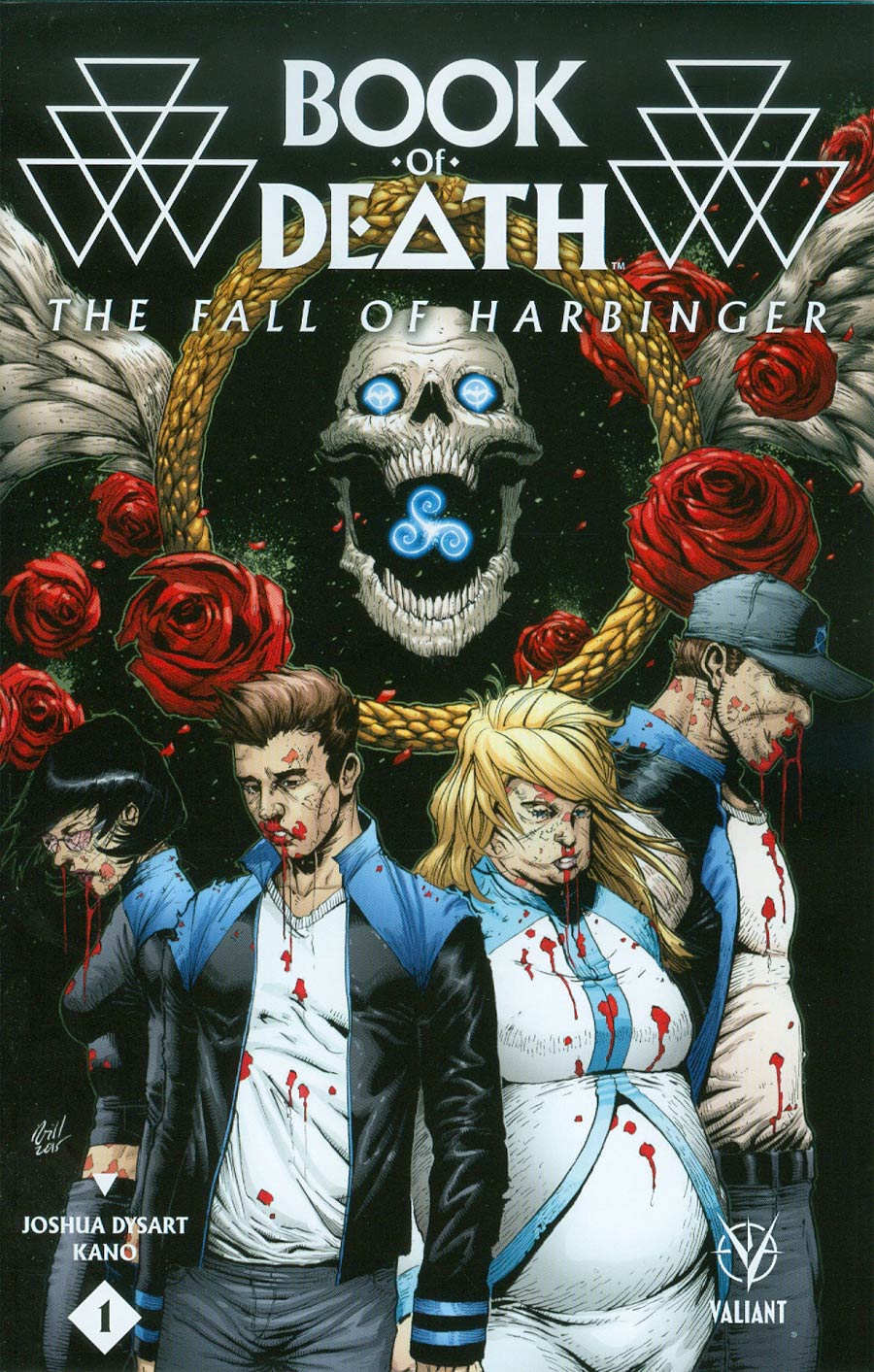 Book Of Death Fall Of Harbinger #1 Cover D Incentive Robert Gill Variant Cover