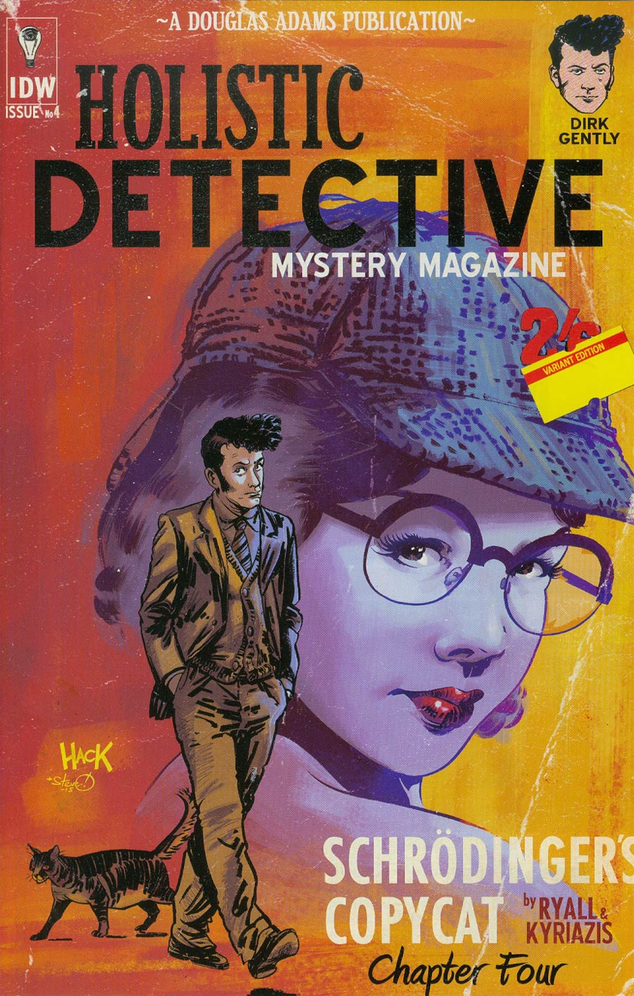 Dirk Gentlys Holistic Detective Agency #4 Cover C Incentive Robert Hack Variant Cover