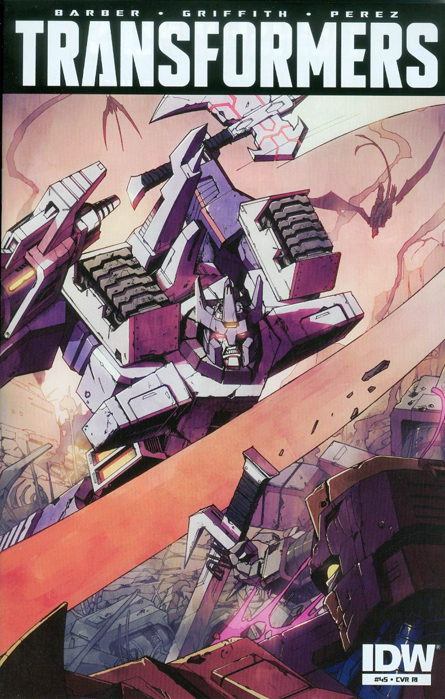 Transformers Vol 3 #45 Cover C Incentive Kei Zama Variant Cover