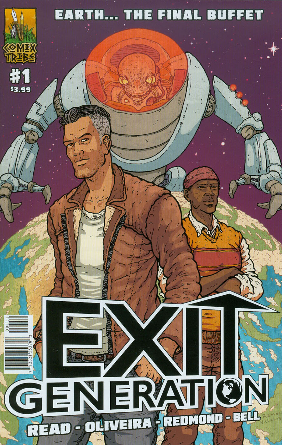 Exit Generation #1 Cover A Ramon Villalobos