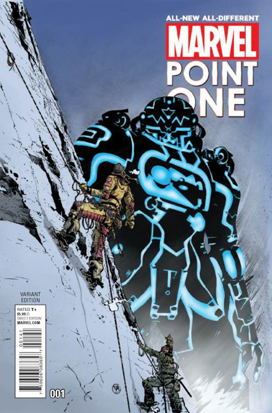 All-New All-Different Marvel Point One #1 Cover D Incentive Paul Pope Kirby Monster Variant Cover